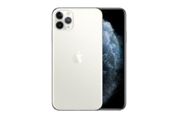 New Apple iPhone 11 Pro Max 256GB 4G LTE Silver (FREE DELIVERY + 1 YEAR AU WARRANTY)