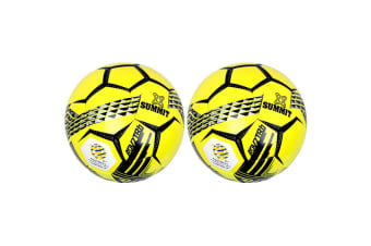 2PK Summit ADV2 Size 3 Trainer Soccer Ball/Football Yellow Sport Indoor/Outdoor