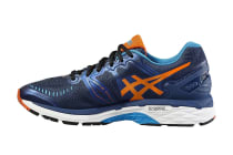 Asics Men's Gel-Kayano 23 (Poseidon/Flame Orange/Blue Jewel)