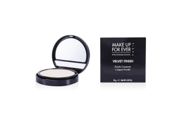 Make Up For Ever Velvet Finish Compact Powder - #0 (Alabaster) (10g/0.35oz)
