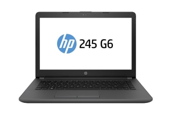 "HP 245 G6 14"" AMD E2-9000e 8GB RAM 1TB HDD Win10 Home Notebook (6FN22PA)"