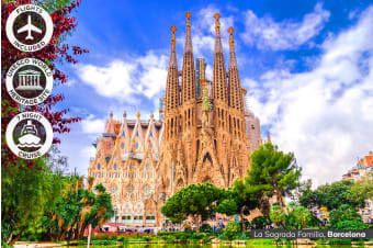 EUROPE: 18 Day Spain Tour and Mediterranean Cruise Including Flights for Two