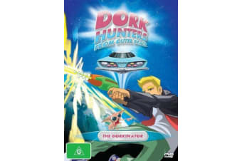 Dork Hunters From Outer Space The Dorkinator Vol 1 -Animated Series DVD NEW