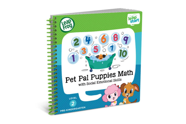 LeapFrog LeapStart Pet Pals Puppies Maths Activity Book