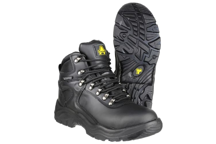 Amblers Steel FS218 W/P Safety / Womens Boots / Boots Safety (Black) (3 UK)