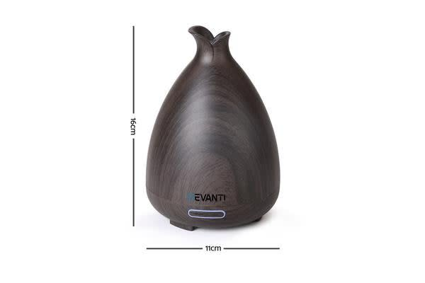 DEVANTi Aroma Aromatherapy Diffuser LED Essential Oil Air Humidifier Purifier DW