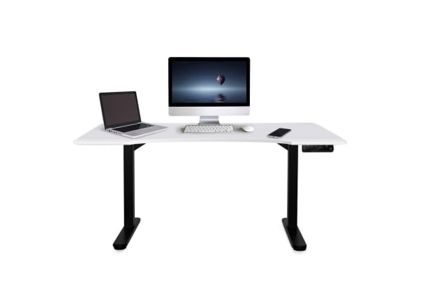 Height-Adjustable Standing Desk Electric Motorised Sit Stand Up Office 150cm WT