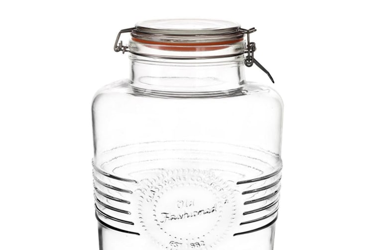 Old Fashioned Clip Top Drink Dispenser 6L