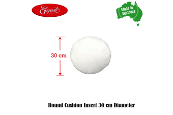 Cushion Insert Round at Your Size Choice by Easyrest
