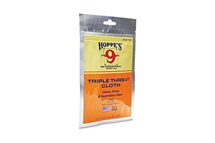 """Hoppe's 9 11x14"""" Triple Threat Cotton Cleaning Cloth #1130"""