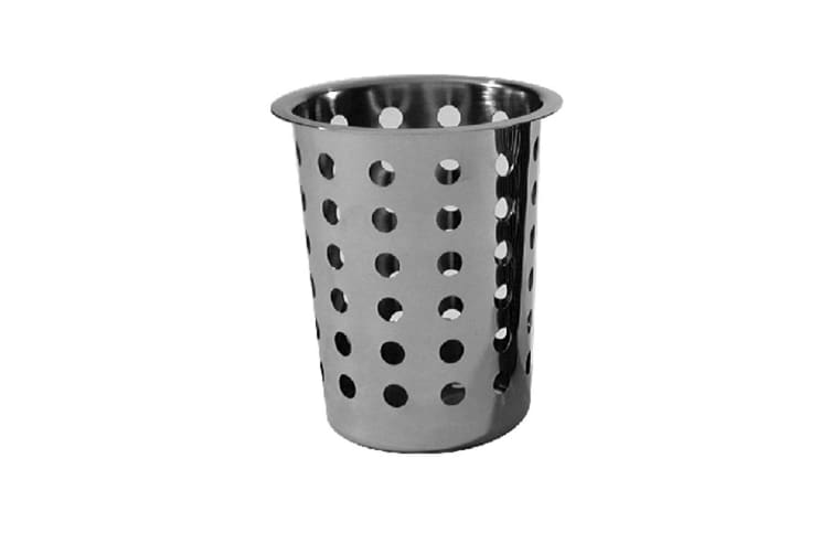 Stainless Steel Cutlery Holder With Baskets - 8 Holes