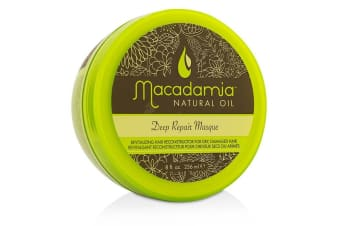 Macadamia Natural Oil Deep Repair Masque (For Dry, Damaged Hair) 236ml