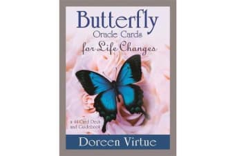 Butterfly Oracle Cards for Life Changes - A 44-Card Deck and Guidebook