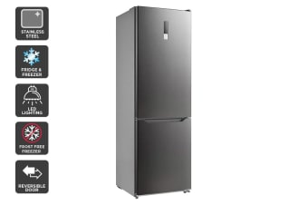 Kogan 323L Bottom Mount  Fridge - Stainless Steel