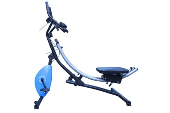Abdominal Crunch Coaster Stationary Bike Fitness Equipment Workout Machine