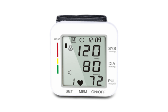 Blood Pressure Monitor Automatic Wrist Voice Broadcast Clinical High Blood Pressure Monitor