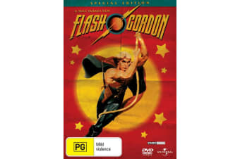 Flash Gordon DVD Region 4