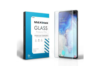 Galaxy S10 Case Friendly Tempered Glass Screen Protector