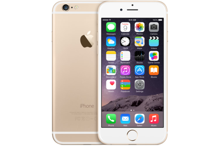iPhone 6 - Gold 64GB - Refurbished Good Condition