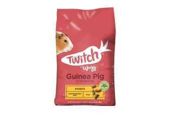 Twitch By Wagg Guinea Pig Nuggets (May Vary) (10kg)