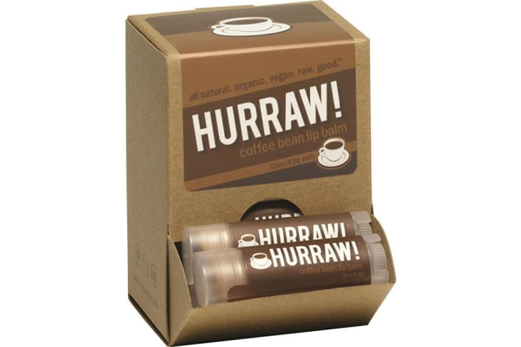 Hurraw! Lip Balm Coffee Bean 4.3g x 24 Display