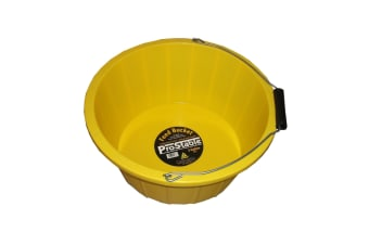 ProStable Feed Bucket (Yellow) (3 Gallons)