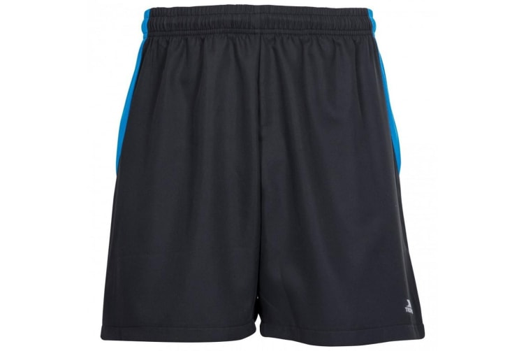 Trespass Mens Shane Sport Shorts (Black) (XXL)