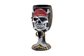 Bristol Novelty Pirate Skull And Cutlasses Goblet (Multicoloured) (One Size)
