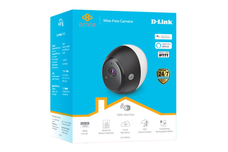 D-Link Wi-Fi Battery Camera (DCS-2800LH)