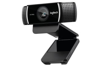 LOGITECH C922 Pro Stream Full HD Webcam 30fps at 1080p Autofocus Light