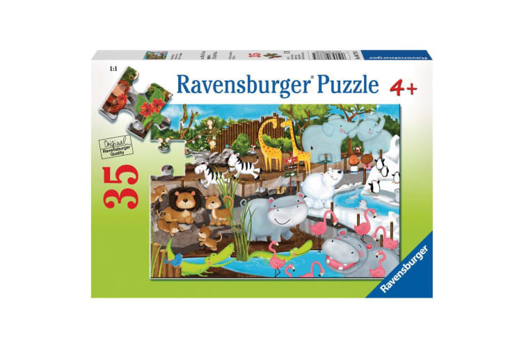 Ravensburger Day at the Zoo Puzzle - 35 Piece