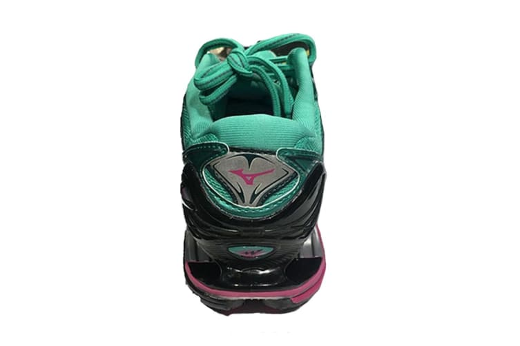 Mizuno Women's WAVE PROPHECY 7 Running Shoe (Billiard/Fuchsia Purple/Pacific, Size 9 US)