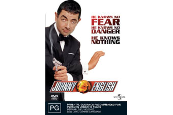Johnny English DVD Region 4