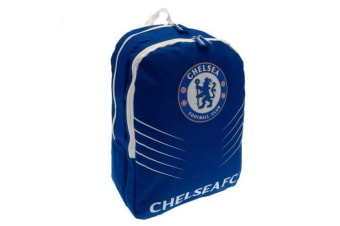 Chelsea FC Spike Backpack (Blue) (One Size)