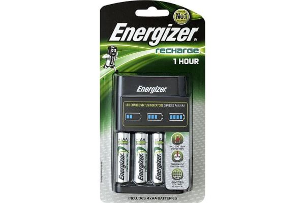 Energizer 1 Hour Fast Charger Battery Charger