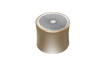 Bluetooth Speaker Desktop Metal Bass Wireless Portable Card Speaker Gold
