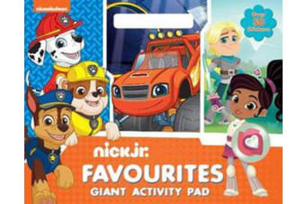 Nick Jr. Favourites Giant Activity Pad