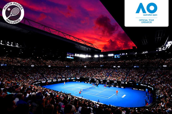 MELBOURNE: Australian Open 2020 Men's & Women's Finals Including 3 Nights Accommodation (Sofitel on Collins - Classic Room)