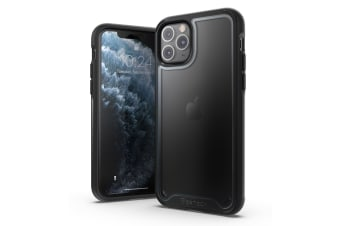 VERTECH Ultra Hybrid Shockproof Slim Hard Cover for iPhone 11 Pro-Black Grey