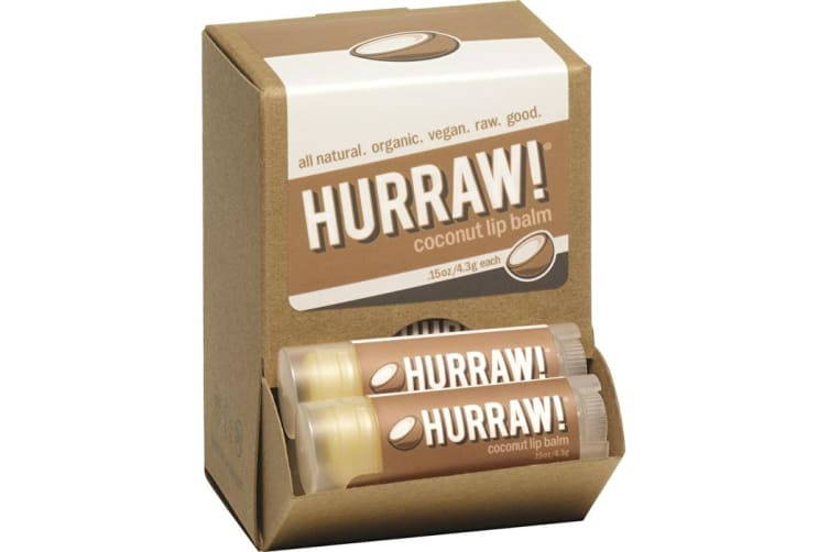 Hurraw! Lip Balm Coconut 4.3g x 24 Display