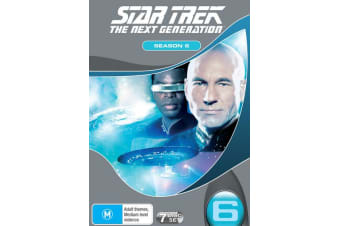 Star Trek the Next Generation The Complete Season 6 Box Set DVD Region 4