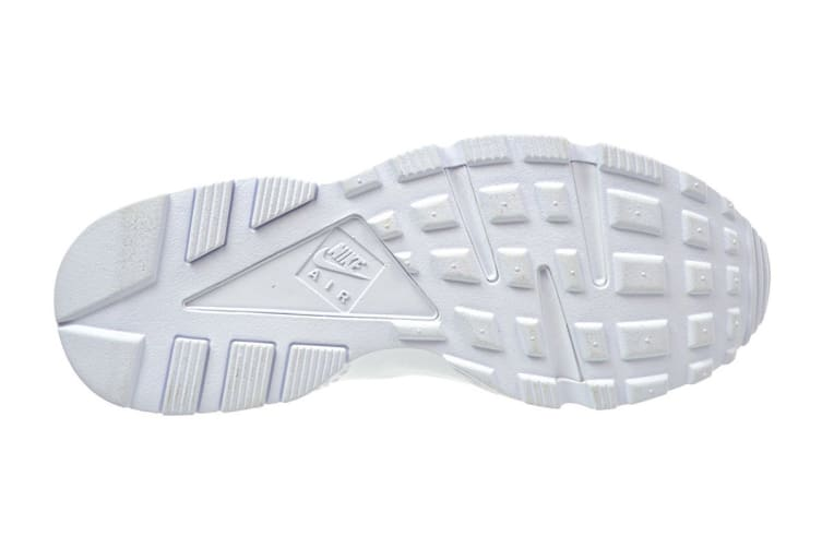 Nike Women's Air Huarache Run Running Shoe (Triple White, Size 9)