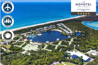 SUNSHINE COAST: 6 Nights at Novotel Sunshine Coast Including Flights for Two
