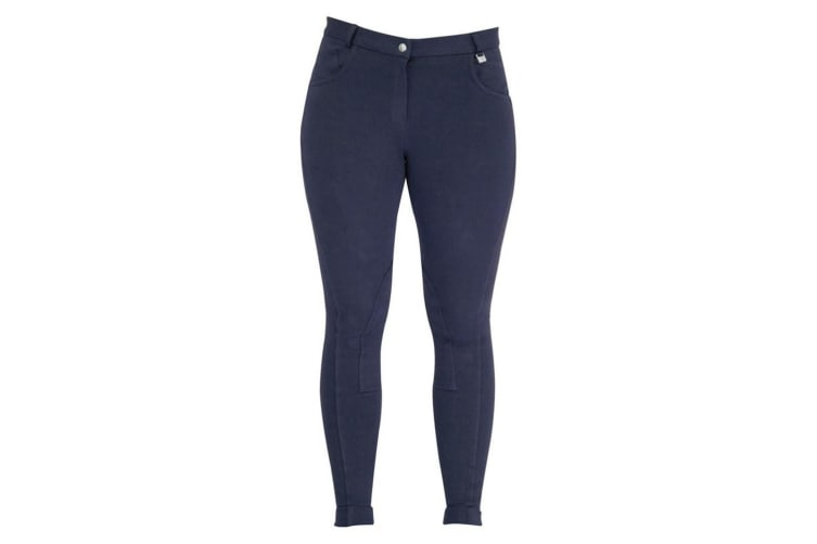 HyPERFORMANCE Melton Ladies Jodhpurs (Navy) (34in)