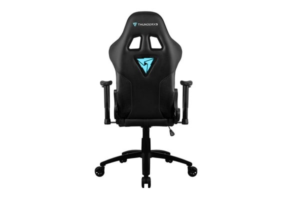 ThunderX3 TX3-RC3-BK HEX RGB Lighting Gaming Chair - Black