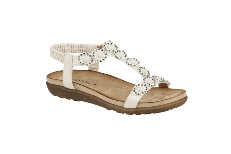 Cipriata Womens/Ladies Giovanna Sandals (White) (4 UK)