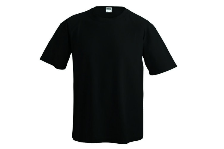 James and Nicholson Mens Function Tee (Black) (XXL)