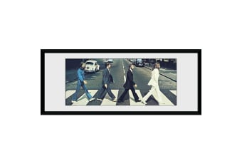 The Beatles Framed Picture (Grey)