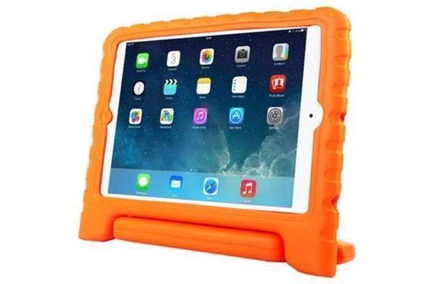 Education Soft handle iPad Air 2 Case Protector For School Kids, (Orange)