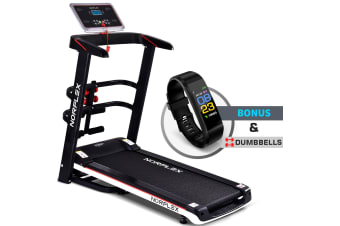 NORFLEX Electric Treadmill Home Gym Exercise Machine Fitness Tracker Equipment